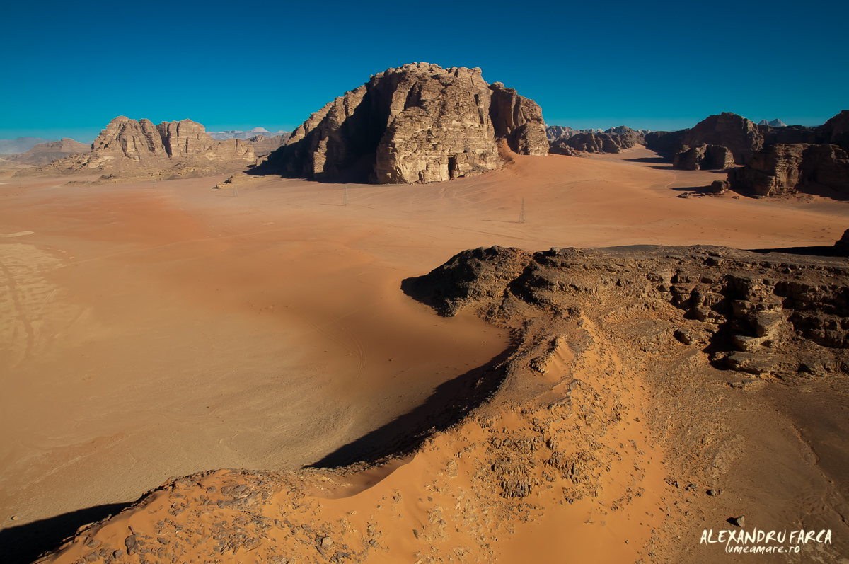 Wadi Rum – view from the sky