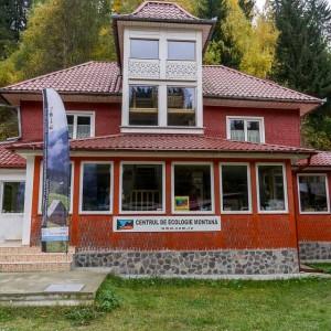 Centrul de Ecologie Montana from Moieciu de Sus