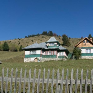 Traditional houses in Fundatica